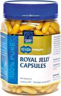 Kapsułki z Mleczkiem Pszczelim Royal Jelly - 180 kapsułek