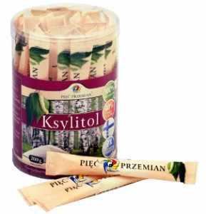 Ksylitol - cukier z brzozy 250g (Sticksy 40szt x 5g)
