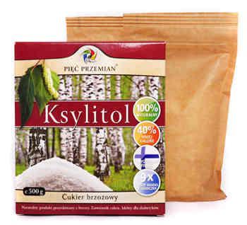Ksylitol - cukier z brzozy 500g