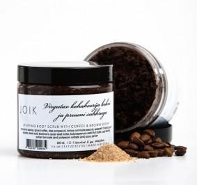 Liftingujący Peeling do Ciała z Mieloną Kawą i Brązowym Cukrem 200 ml