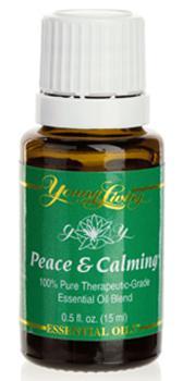 Peace and Calming™ [Spokój  i  Złagodzenie], olejek eteryczny, mieszanka, 15 ml