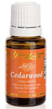 Drzewo Cedrowe olejek eteryczny (Cedrus atlantica) | Cedarwood Essential Oil, 15 ml