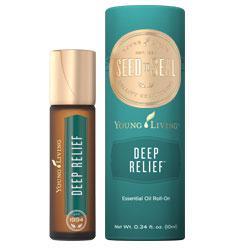 Deep Relief Roll-On™, olejek eteryczny, mieszanka, 10 ml /aplikator kulkowy