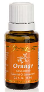 Olejki-eteryczne-single: Pomarańcza olejek eteryczny (Citrus aurantium dulcis) | Orange Essential Oil, 15 ml | Young Living Essential Oils