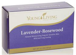 Mydło nawilżające z lawendą i drzewem różnanym \ Lavender Rosewood - Bar Soap, 100g