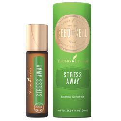 Stress Away Roll-On™, olejek eteryczny, mieszanka, 10 ml /naturalne rozwiązanie pomocne w eliminowaniu codziennego stresu /aplikator kulkowy