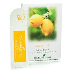 Cytryna olejek eteryczny (Citrus limon) | Lemon Essential Oil 10 saszetek
