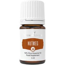 Gałka Muszkatołowa olejek eteryczny (Myristica fragrans) | Nutmeg+ Essential Oil, 5 ml