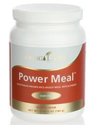 Power Meal, zestaw wegetariańskich protein, zawierający jagody Nigxia, białka ryżu, ogromne spektrum antyutleniaczy, ziół, witamin, enzymów i minerałów - 780g