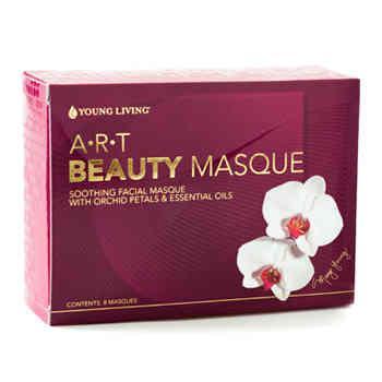 A·R·T® Beauty Masque - formuła egzotycznych płatków orchidei i czystych olejków eterycznych (8 sztuk)