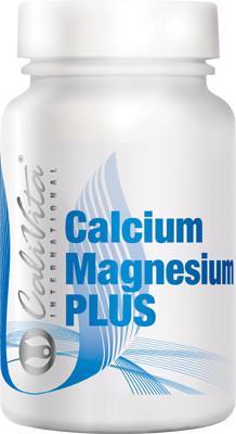Calcium Magnesium Plus /Maksymalna ochrona kości i zębów z wapniem, magnezem i witamną D3 i K2 (MK-7), 100 kapsułek