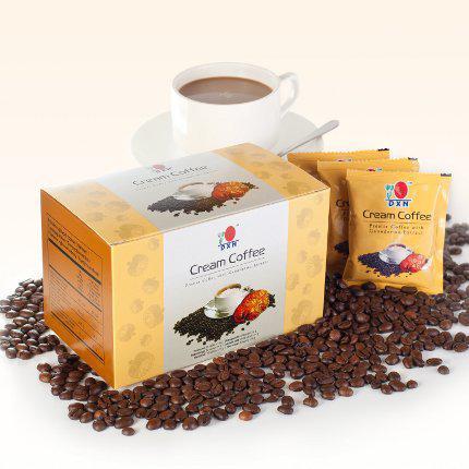 Cream Coffee /mieszanka kawy instant, wyciągu z Ganodermy Lucidum i śmietanki - 20 saszetek x 14 g