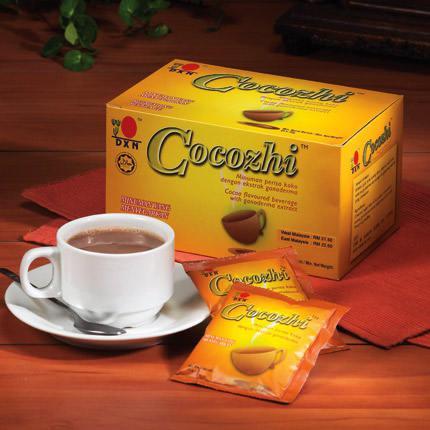 Cocozhi /Napój z najwyższej jakości kakao i ganodermy - 20 saszetek x 32 g