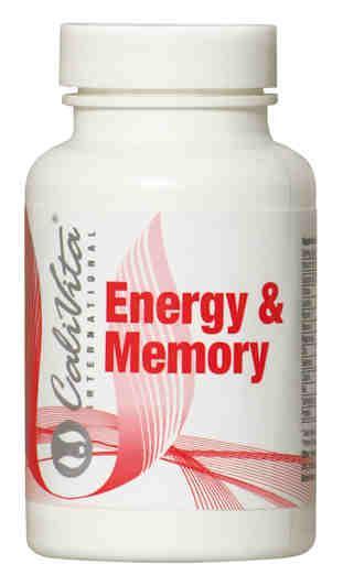 Energy & Memory /Pobudzająca guarana i inne składniki