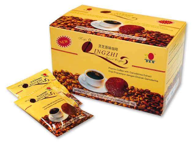Lingzhi Black Coffee /mieszanka kawy instant i wyciąg z ganodermy - 20 saszetek x 4,5 g