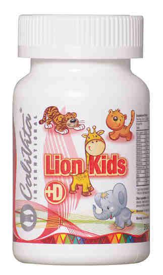 Lion Kids /Multivitamina dla dzieci z witaminą D