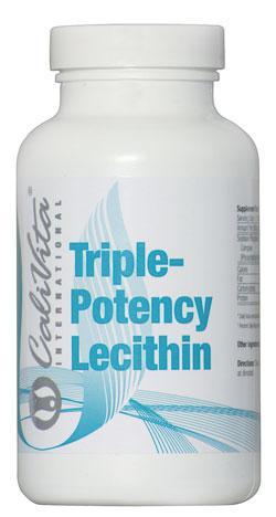 Triple Potency Lecithin /Lecytyna sojowa (fosfatydylocholina) 100 kaps