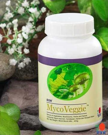 Proszek Myco Veggie EU /mieszanka starannie wybranych ziół, grzybów, warzyw, owoców, chińskiej zielony herbaty i spiruliny