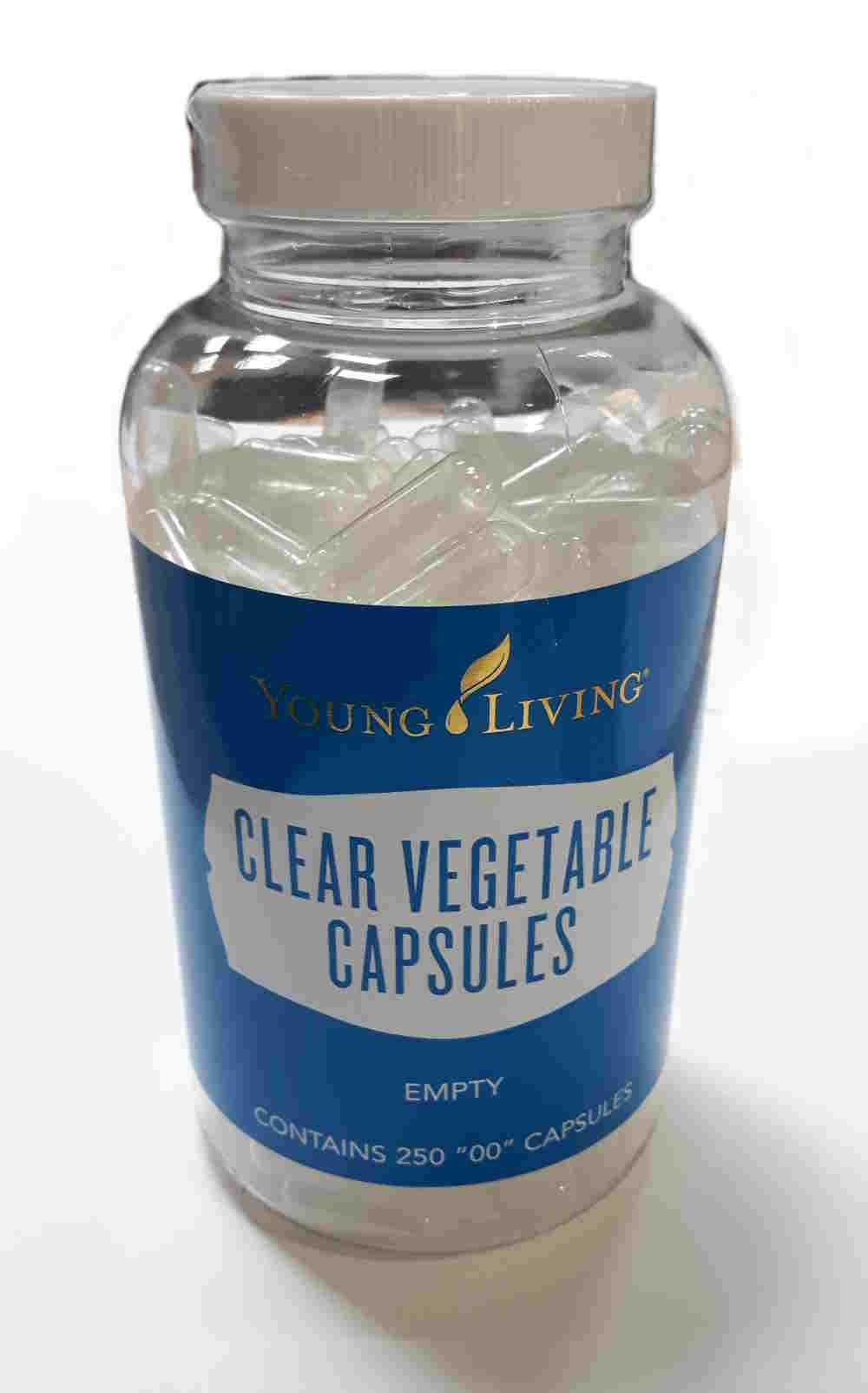 Kapsułki roślinne NPcaps™ | 250 sztuk