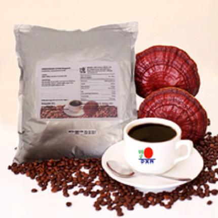 Lingzhi Black Coffee /mieszanka kawy instant i wyciąg z ganodermy, 400 gr (opakowanie MEGA)