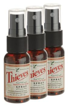 Thieves® Spray (Areozol),  3 x 29 ml