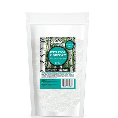 Ksylitol Fiński Dr Gaja, cukier brzozowy, 250g