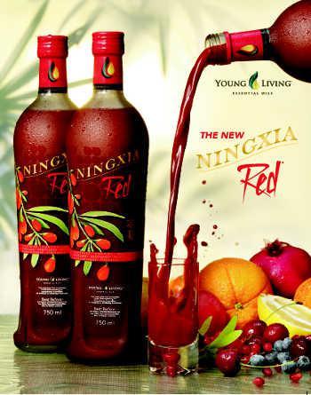 Ningxia Red - to magiczna mieszanka Lycium Barbarum i pięciu innych owoców, bardzo silnych przeciwutleniaczy | Magia-Urody.pl
