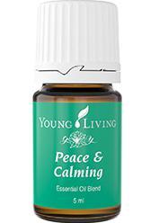 Peace and Calming™ [Spokój  i  Złagodzenie], olejek eteryczny, mieszanka, 5 ml