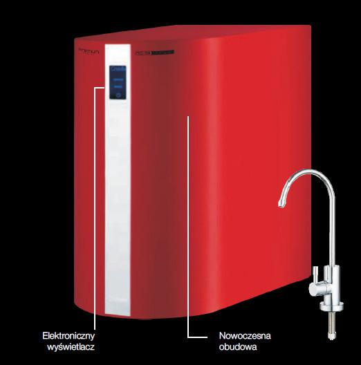 Domowy system filtrujący i jonizujący wodę pitną /RO-5 Plus Gold REDOX PREMIUM Gold
