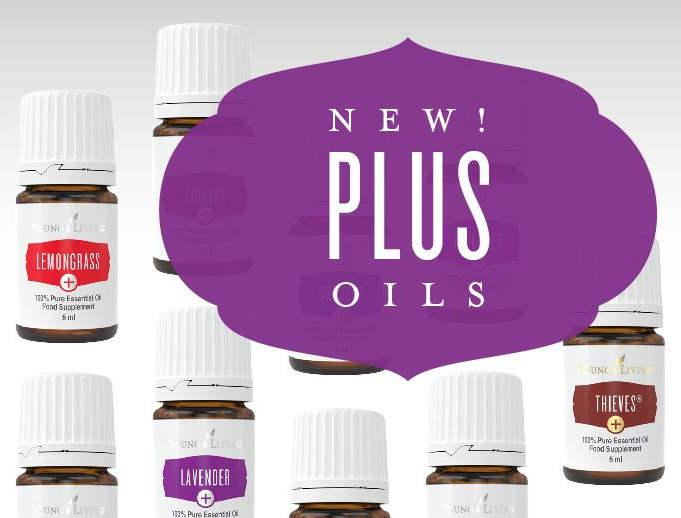 Seria PLUS Young Living Essential Oils | magia-urody.pl